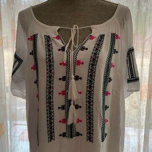 Gibson Latimer Dresses - Gibson Latimer white lined casual dress XXL